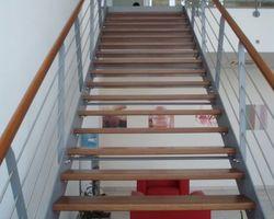 HARRER SERRURERIE - WALBACH - Escalier interieur